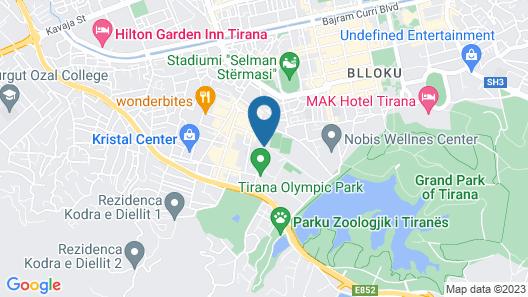 Hotel Boutique Las Map