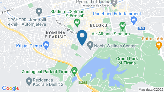 Dinasty Hotel Map