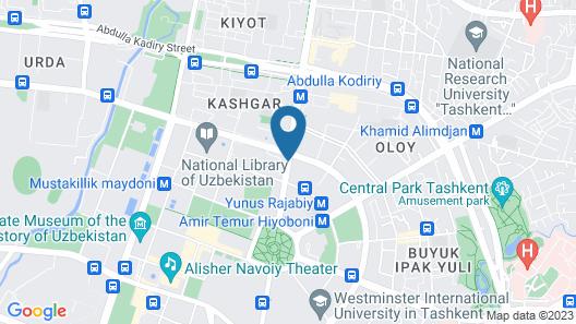 City Palace Hotel Map