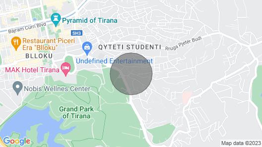 Pandora Residenca Tirana - Family Room Map