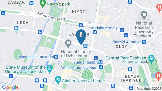 Hyatt Regency Tashkent Map