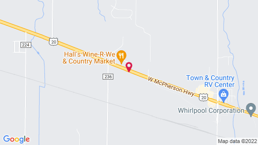 Red Roof Inn Clyde Map