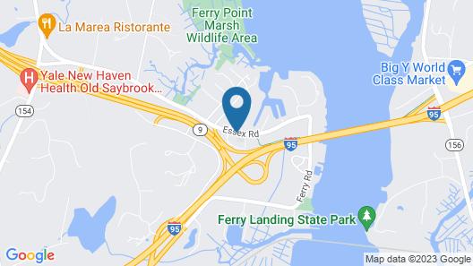 Quality Inn Old Saybrook - Westbrook Map
