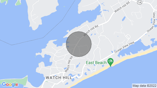 Cozy Summer Cottage, Short Walk to Beach and Historic Watch Hill Village Map