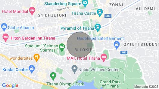 Big Ben Luxury Apartment Map
