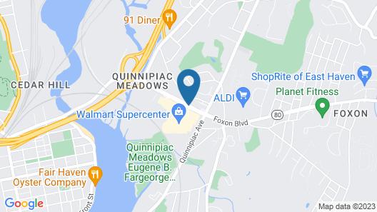 Days Inn by Wyndham New Haven Map