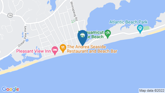 Sandy Shore Motel Map