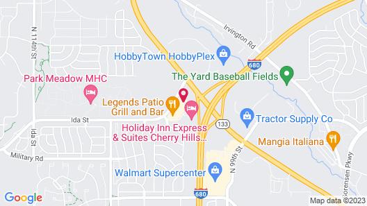 Fairfield Inn & Suites Omaha Northwest Map