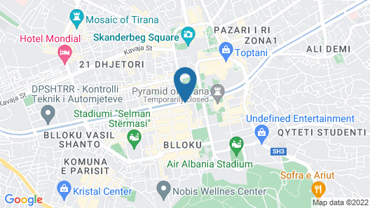 Luxury European Trade Center Apartment Map