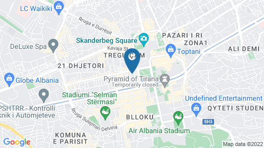 Choose Balkans Apartments Map