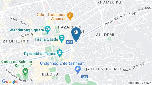 Alegoria HUB& artist atelier Map