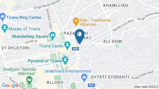 Brilant Antik Hotel Map