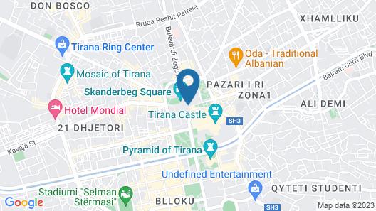 Tirana International Hotel & Conference Centre Map