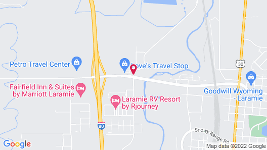 Best Western Laramie Inn & Suites Map