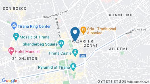 Hotel Vila e Arte Map