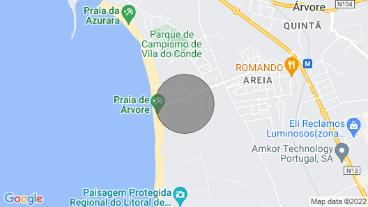Apartment With Magnificent sea View Map