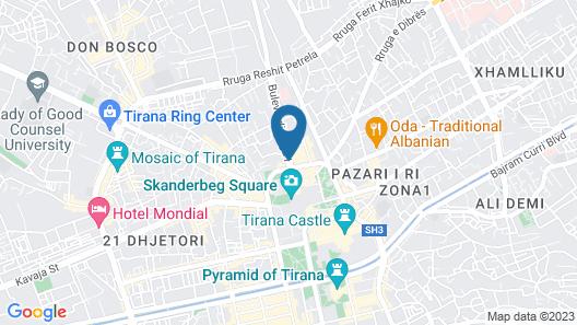 Nobel Hotel Map