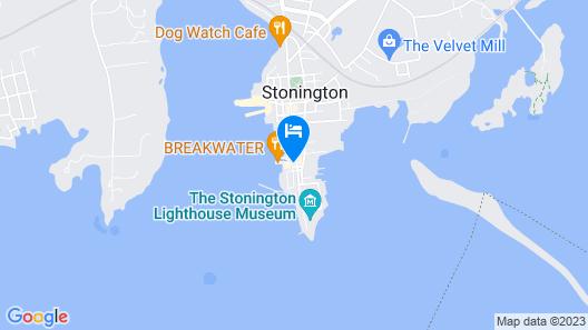 The Inn at Stonington Map
