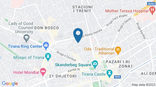 Suite AIOALBANIA Trilo Bibagni Map