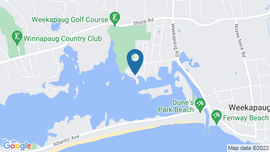 Waterfront Home Map