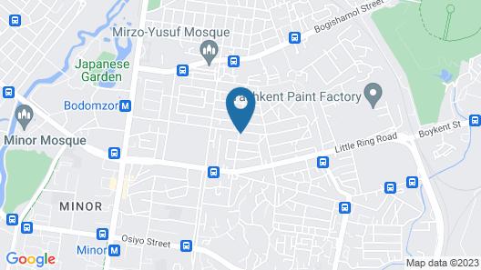 Prime Villa Hotel Map