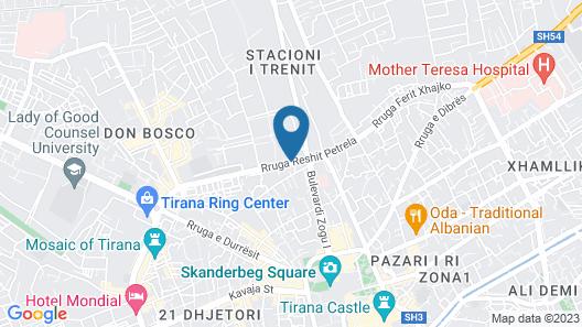 VH Premier As Tirana Hotel Map