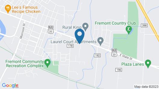 Great Lakes Motel Map