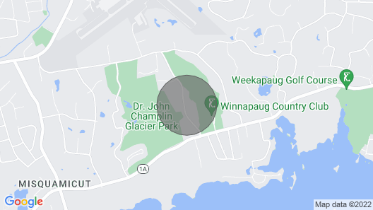Watch Hill 5 min away. Spacious, Winnepaug Golf Course. Avail Sept-Dec 2020. Map