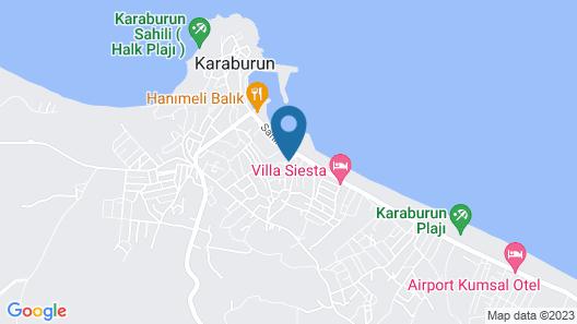 Sahil Pansiyon Map