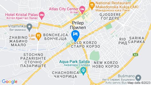 Breza Map