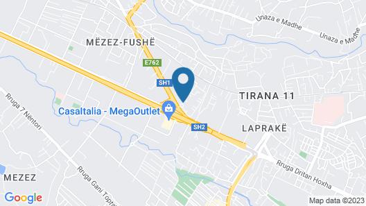Garden City Albania Map