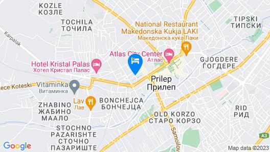 Stojanoski GuestHouse Map