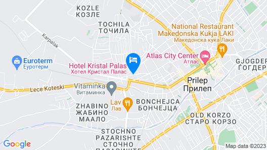 Hotel Kristal Palas Map