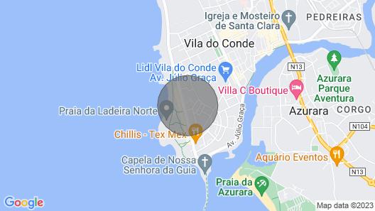 New: I Love Vila do Conde (beach + North of Portugal) Map