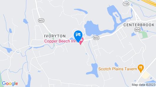 Copper Beech Inn Map