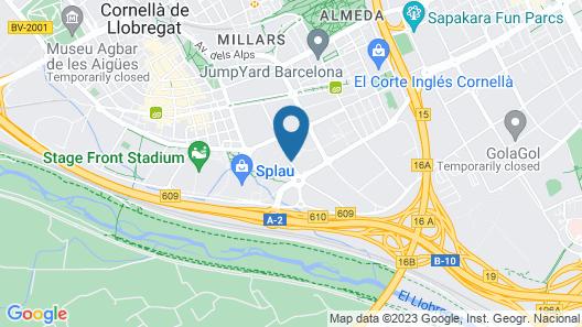ibis Barcelona Cornella Map