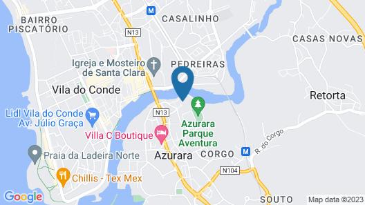 Santana Hotel & Spa Map