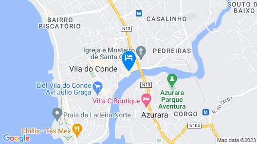 A Rendilheira Boutique Hotel Map