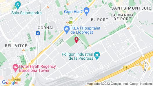 Hotel Fira Congress Map