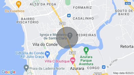 Villa Regio Portugal II Map