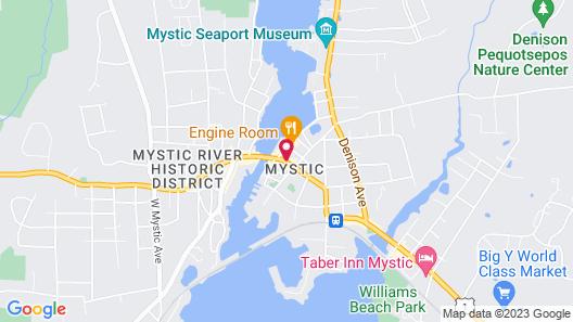 The Whaler's Inn Map