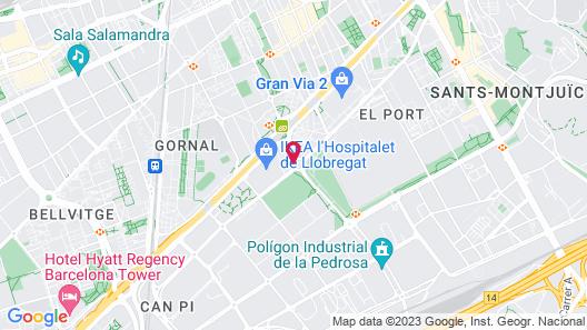 Hotel Porta Fira Map