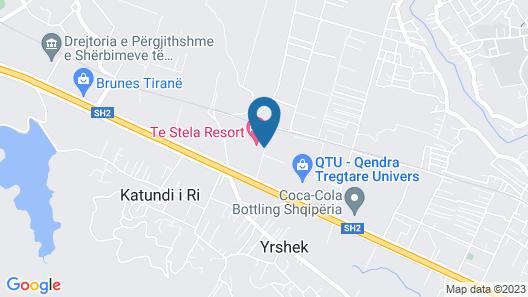 Te Stela Resort Map