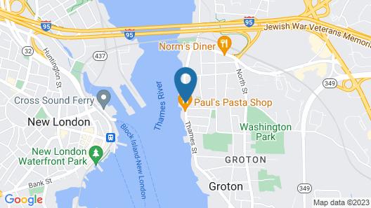 Thames Inn & Marina Map