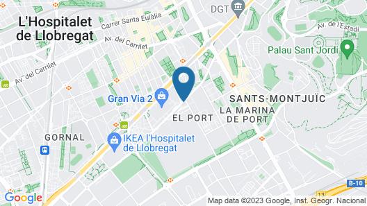 Hotel SB Plaza Europa Map