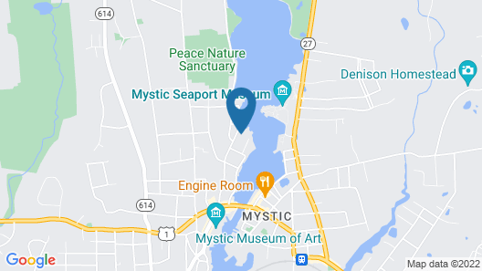 Downtown Historic Gem W/ Water Views Of Mystic Seaport & Lighthouse Map