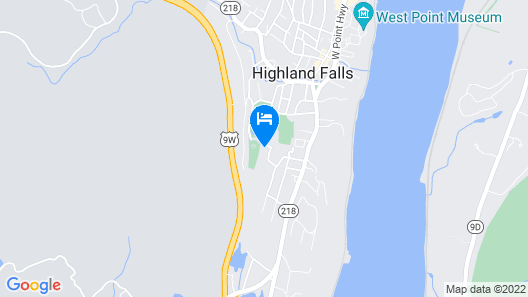The Villa Falls Guest House Map