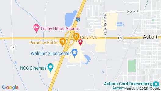 Baymont by Wyndham Auburn Map