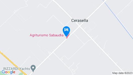 Agriturismo Sabaudia - Podere 1470 Map
