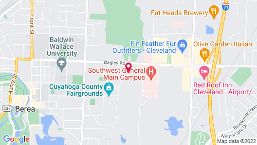 Residence Inn by Marriott Cleveland Airport/Middleburg Heights Map